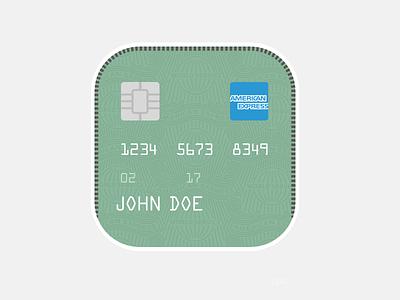 American Express: Credit Card amex american express card mini card icon
