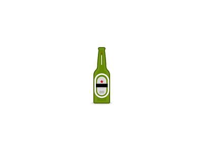 Heineken rebound drink heineken beer bottle
