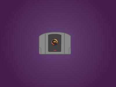 Basic Icon por N64 classic game: Mortal Kombat nintendo mortal kombat n64