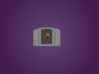 Basic Icon por N64 classic game: Mortal Kombat