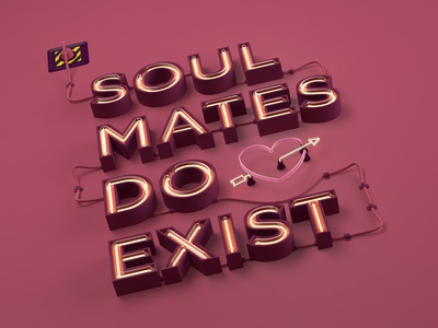 Soul mates do exist