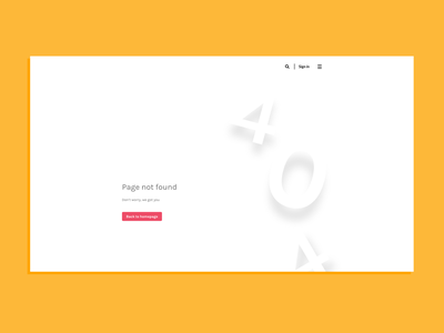 Daily UI Challenge 008 - 404 page black and white daily ui 008 daily ui 404 error page 404 page web design design minimal ux ui