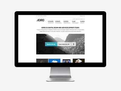Introducing Aoiro Studio V5 aoiro studio redesign site web