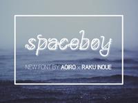 SpaceBoy - New Font