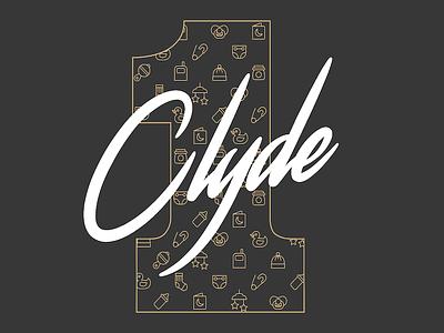 Clyde One birthday photoshop aoiro studio clyde