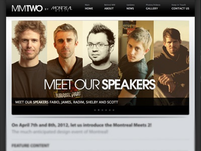 Mmtwo homepage dribbble