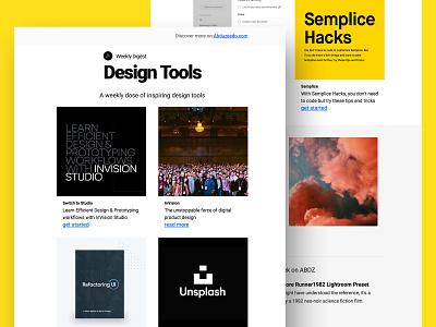 ABDZ Weekly Digest - Design Tools