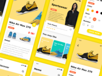 Sport shoes application interface-7