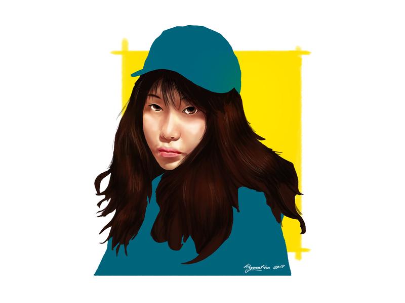 Portrait Painting portait illustration design