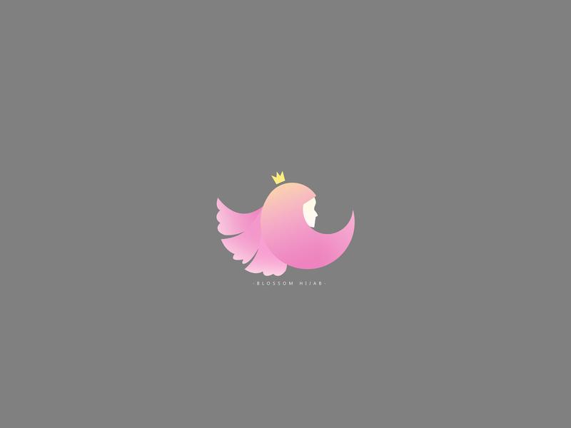 Logo of Blossom Hijab hijab design logo design logotype design logotype logo a day logo 2d logo