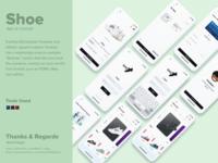 Shoe app UI