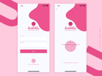 DRIBBBLE Log In with Fingerprints Page