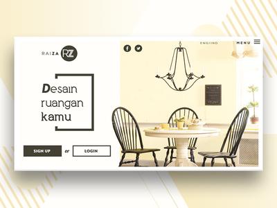 Interior design consulting website