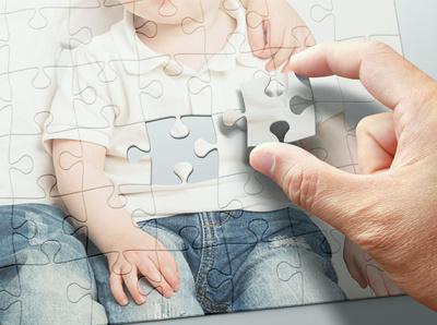 Puzzle Mock-up size