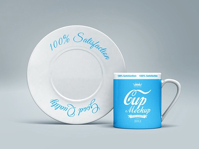 Cup & Plate Mock-up