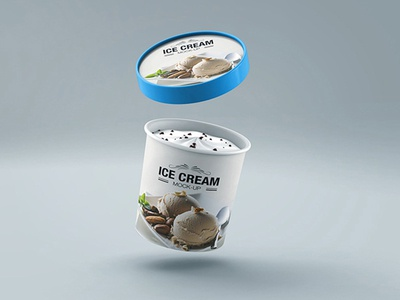 Ice Cream Cup Mock-up v2