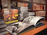 MyBook A4 Landscape Mock-up