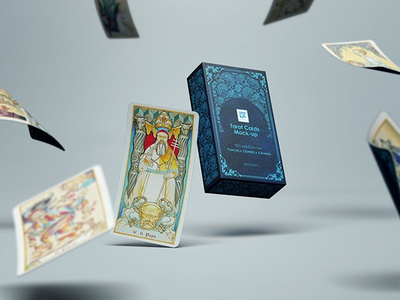 Tarot Cards Mock-up v1