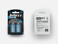 Battery Type C Mock-up