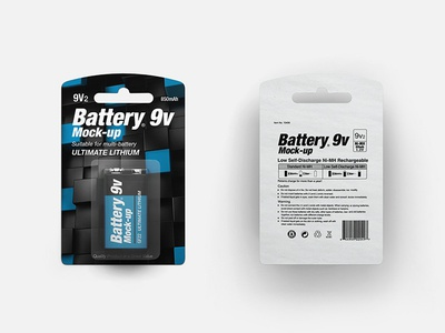 Battery 9v Mock-up
