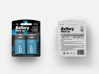 Battery Type D Mock-up