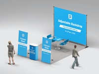 Trade Show Booth Mock-up v3