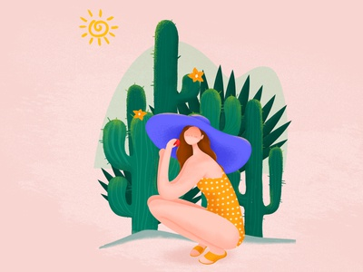 Summer illustration