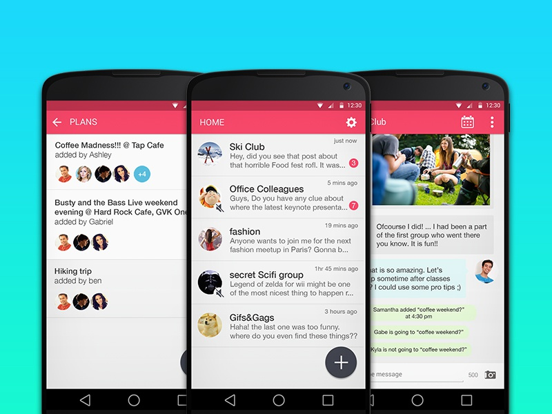 Kitchat Messenger - Group Messaging Done Right by Supriyo