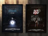 Movie Posters Retro Attack