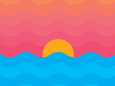 Summer Sunset summer sunset