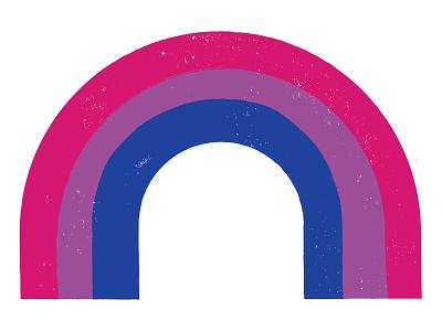 Bisexual Rainbow pride bisexual