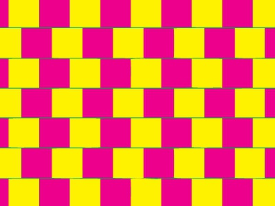 Optical Illusion & Color Theories