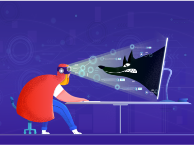 Creative Illustration for Landing Page
