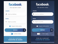 Redesign of Facebook Sign Up