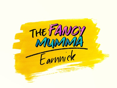 The Fancy Mumma by Earnnick logo designs typography vector branding adobe illustrator creative illustraion logo logo design branding simple logo design fancy logo creative logo logo design design