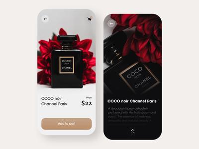 Perfume app exploration cologne perfumes perfume bottle perfume uiux uidesign mobile ui design