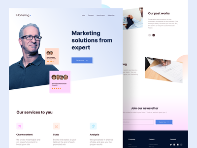Marketing - Web design minimal ui design trending popular design uidesign web ui design web uiux web design web ui website web typography ux ui colours branding practicing design