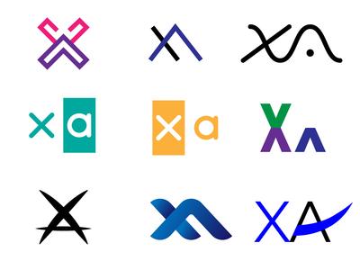 XA logo concept