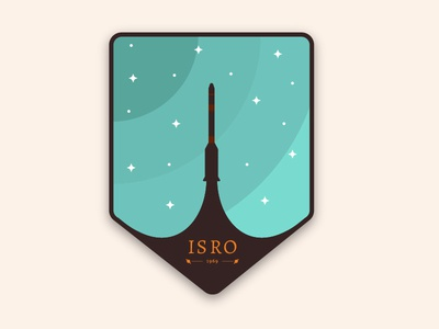 mission patch for dribbble