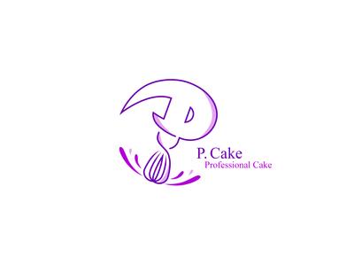 Logo P. Cake | 2017