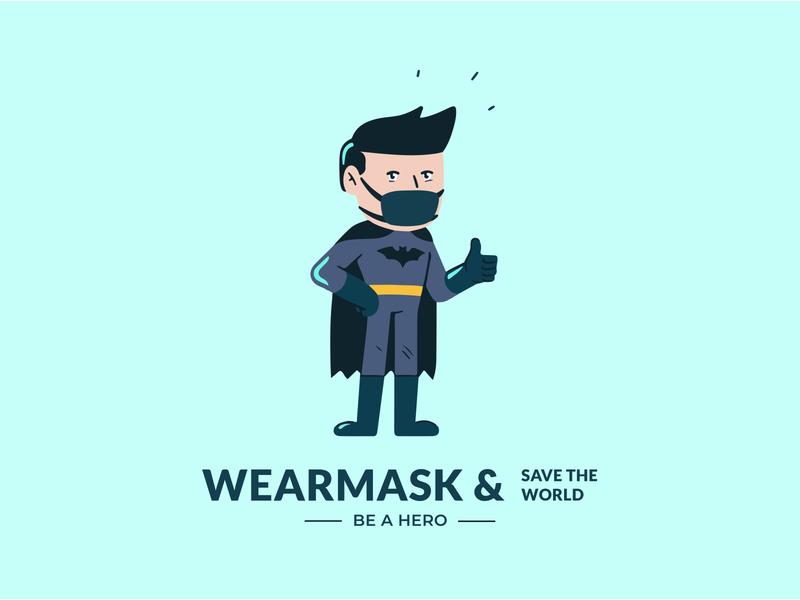 Batman avengers dc marvel mcu anime adobe ilustrator corona coronavirus cover covid19 covid illustration illustrator batman v superman batman