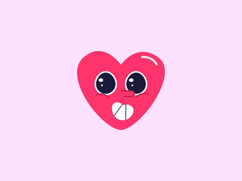 Happy Valentines Day bhanu kushwah adobe ilustrator illustrator graphics design graphic design design gráfico heart love happy valentines day