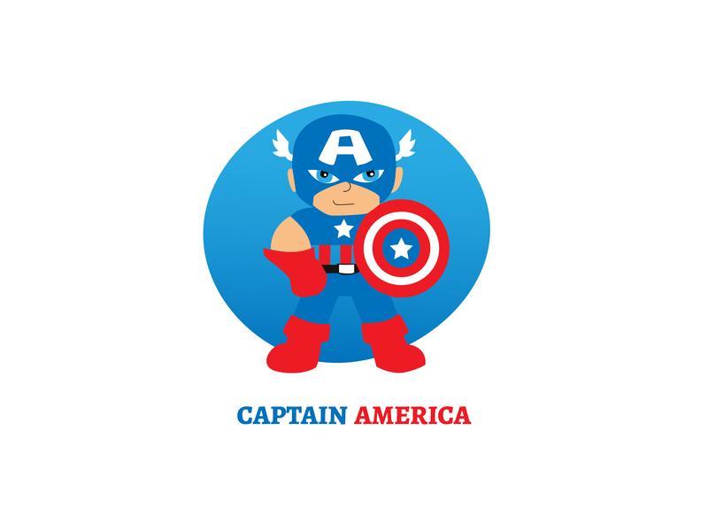 Captain America movie avengers endgame avengers captain character design cartoon designers marvel captainamerica captain america adobe ilustrator graphics design illustration