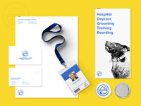 Identity Design - Hampton Cove Animal Hospital.