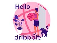Hello, Dribbble