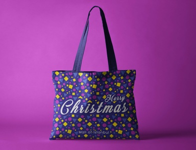Mall of Istanbul Bag graphic design graphic typography design branding art