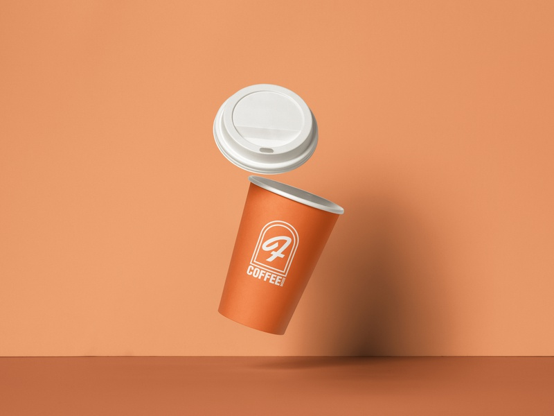 Coffee Cup Design ​​​​​​​ vahidangaji logo graphic design graphic branding art