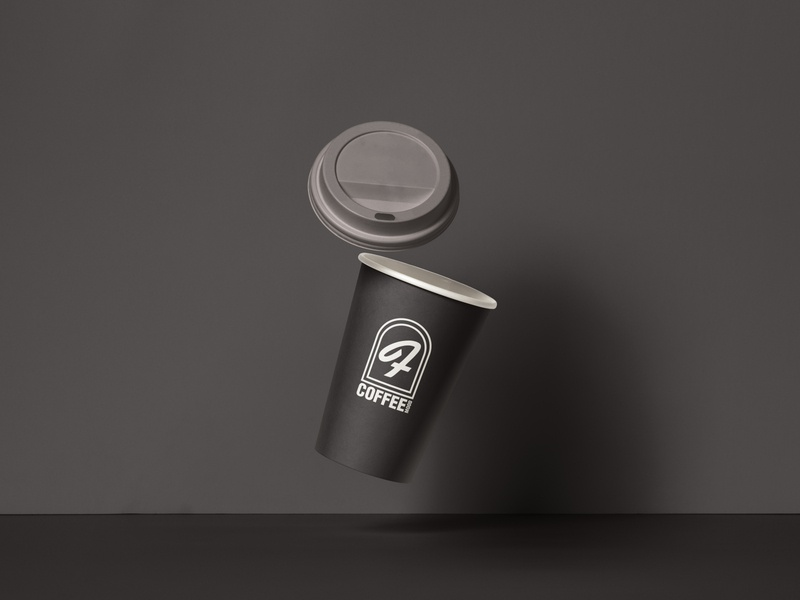 Coffee Cup Design logo vahidangaji graphic design graphic design branding art