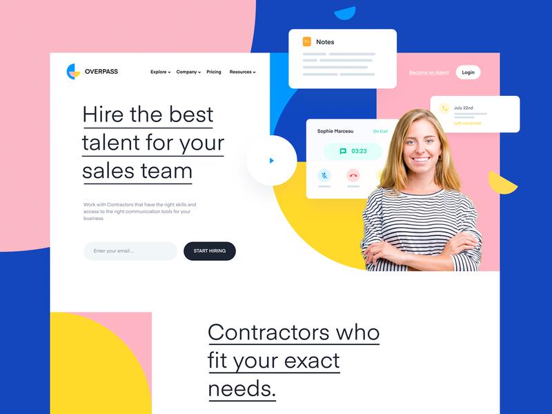 Features Landing Page Design | Marketplace marketplace logo website branding design landing page homepage