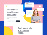Features Landing Page Design